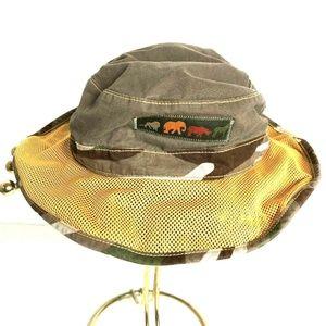 Gymboree Boys 2T-5T Brown Fisherman Safari Hat